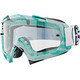 ONeal B-10 Goggle STREAM gray/teal-clear